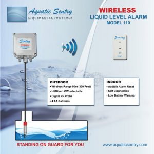 Wireless Liquid Alarm Model 110