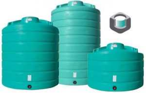 Vertical Storage Plastic Water Tanks