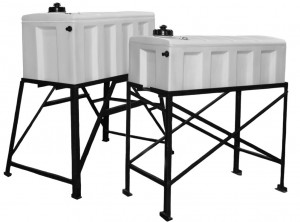 Small Double Wall Plastic Tanks
