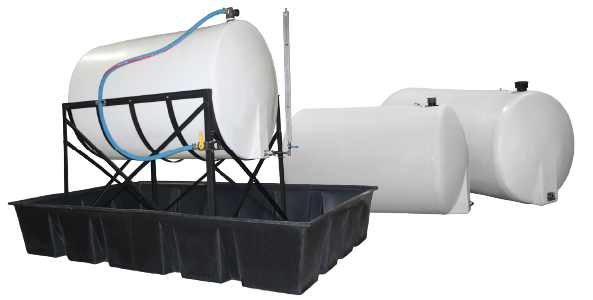 Single Wall Plastic Water Tanks