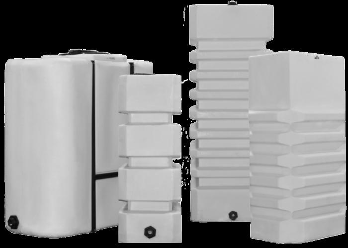 Vertical Box Plastic Water Tanks