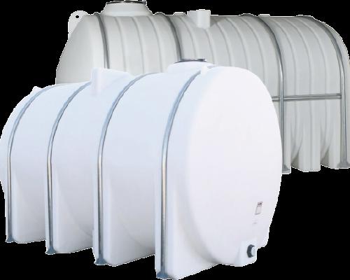 Low Profile plastic water tanks